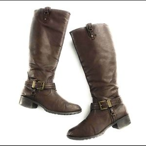 Rampage Idera Chocolate Brown Boots, 7 1/2 M